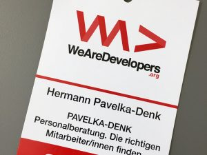 WeAreDevelopers – Recruiting IT Developers