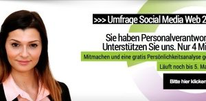 Umfrage: Social Media Web 2.0 im Recruiting