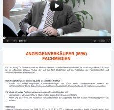 PAVELKA-DENK verbindet das Inserat mit Jobvideos