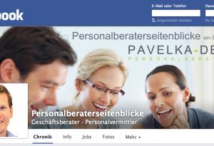 Personalberaterseitenblicke ist auf facebook