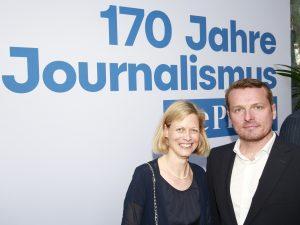 """Dr. Maria Hubl bei 170 Jahre """"Die Presse"""""""