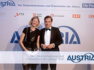 """Auszeichnung für die Österreicherinnen und Österreicher des Jahres 2019 bei Austria-Gala der """"Presse"""""""